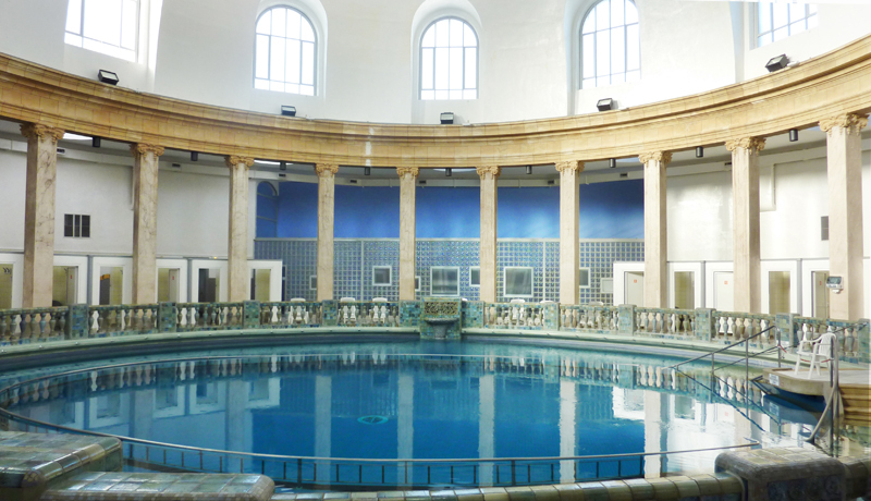 Am nagement de locaux de thermalisme - Piscine ronde nancy ...